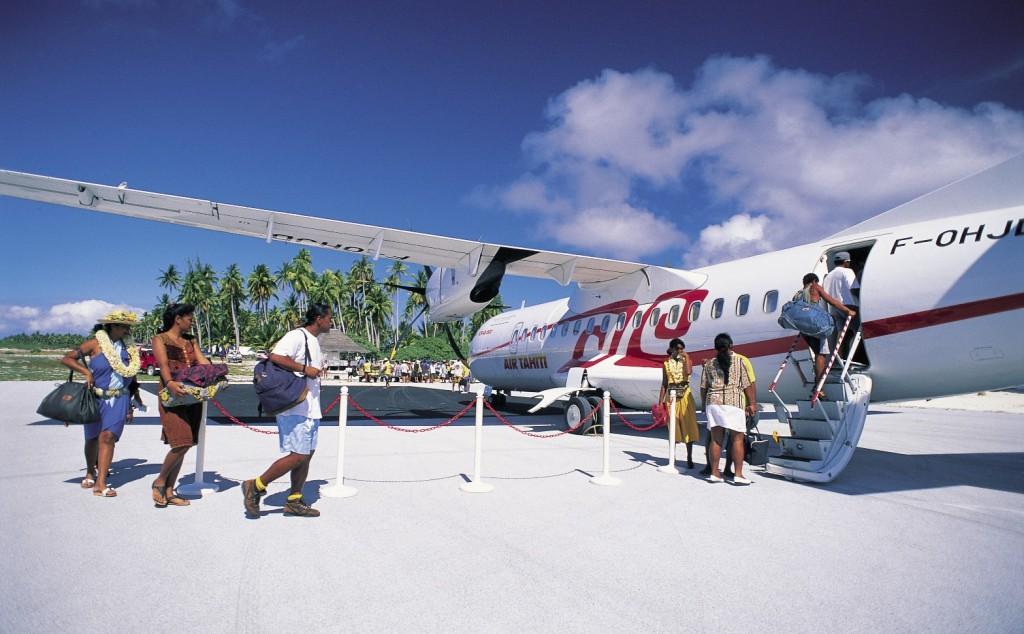 Tahiti utazás