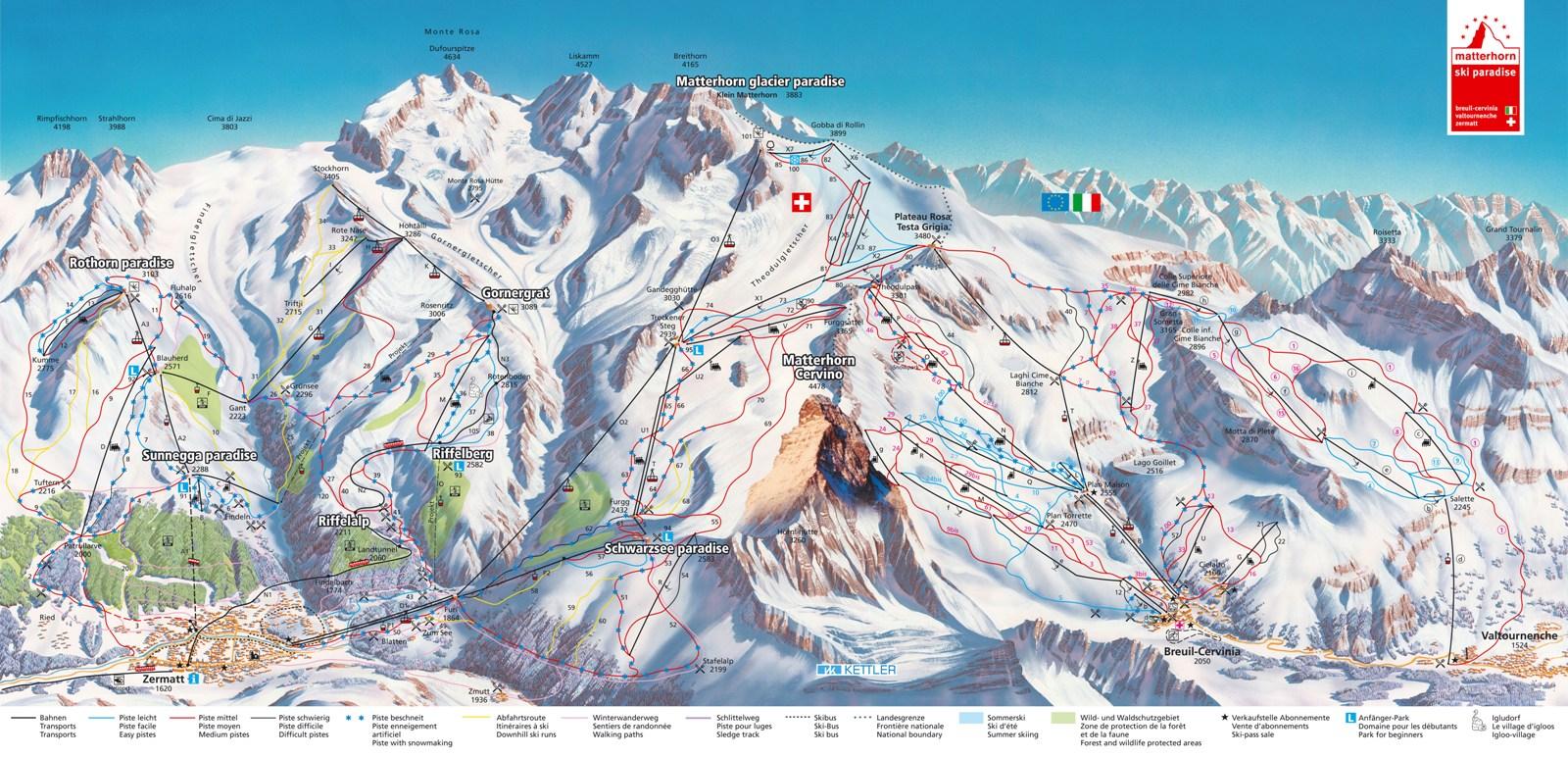 Aosta-völgy, Cervinia