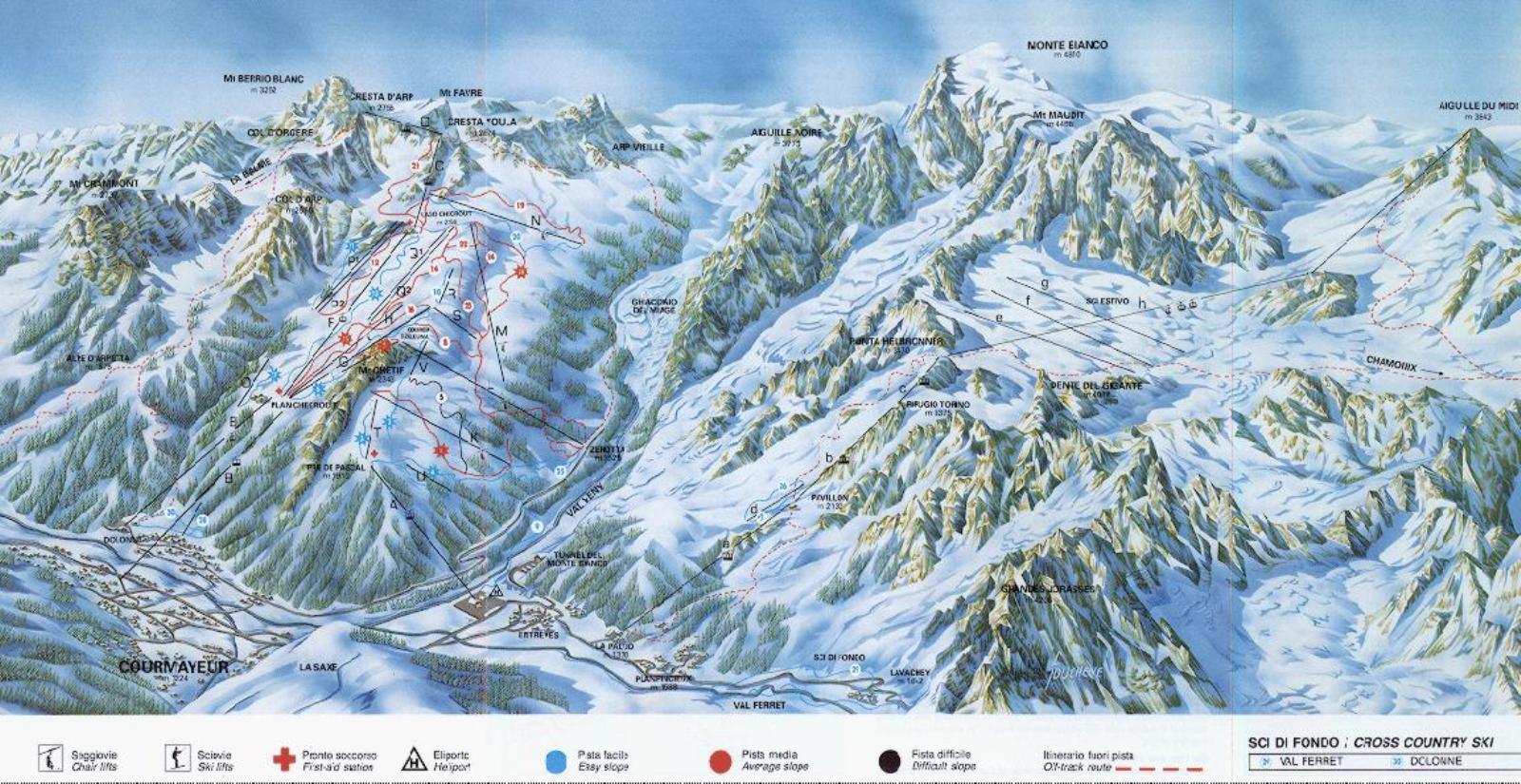Aosta-völgy, Courmayeur