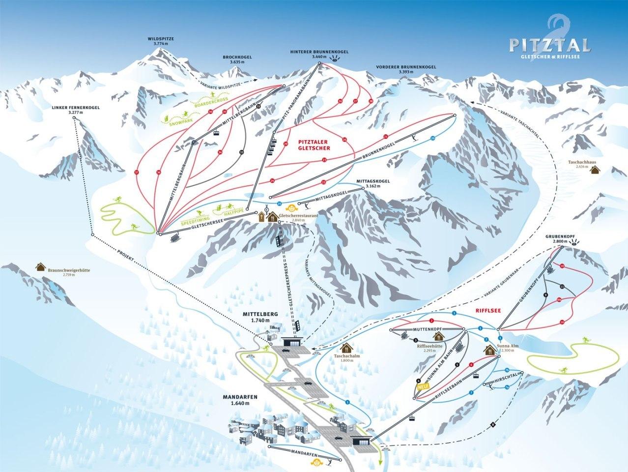 pitztal térkép