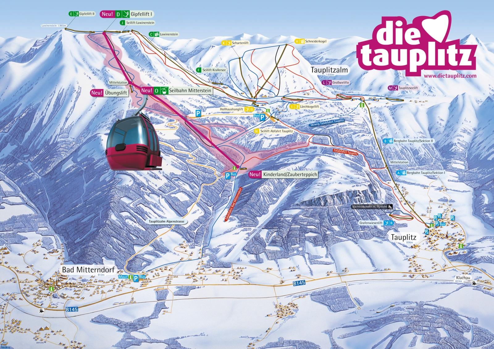 tauplitz térkép